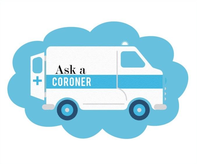 1A1 Ask A Coroner logo