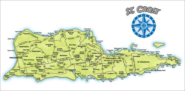 11Map of St Croix
