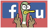 Fowl Language Facebook Button